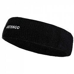 ARTENGO Tenisová čelenka Tb 100 čierna