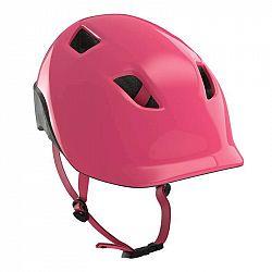 BTWIN Detská Cykloprilba 500 Ružová
