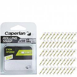 CAPERLAN Rolling Snap Inox Brass 50 Ks