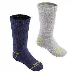 DOMYOS Detské Ponožky 500 2 Páry