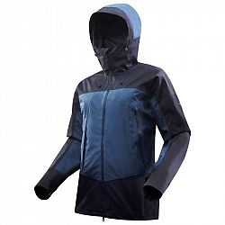FORCLAZ Pánska Bunda Trek 500 Modrá