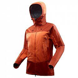 FORCLAZ Pánska Bunda Trek 500 Oranžová