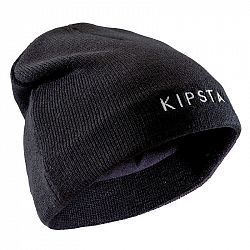 KIPSTA Detská čiapka Keepwarm čierna