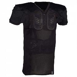 KIPSTA Futbalový Dres Af 550 čierny