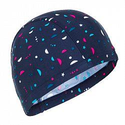 NABAIJI Látková Plavecká čiapka Modrá
