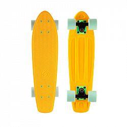OXELO Skate Yamba 100 žlto-zelený
