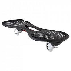 OXELO Waveboard čierno-biely