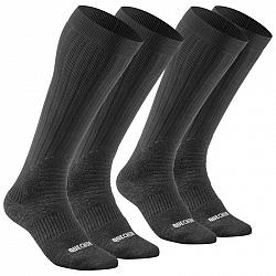 QUECHUA Ponožky Sh100 Warm High