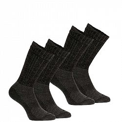 QUECHUA Ponožky Sh500 U-warm Mid