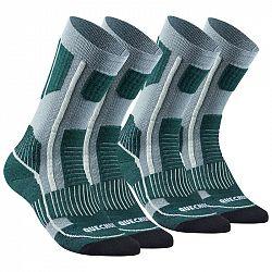 QUECHUA Ponožky Sh520 X-warm