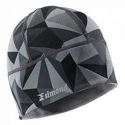 SIMOND čiapka Alpinism Sivá S Motívom