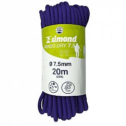 SIMOND Lano Rando Dry 7,5 mm 20 M