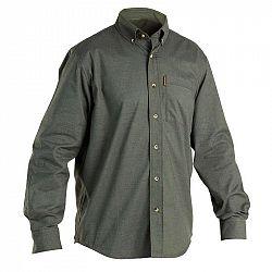 SOLOGNAC Poľovnícka Košeľa 100 Zelená