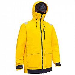 TRIBORD Pánska Bunda Sailing 500 žltá