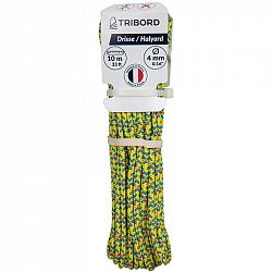 TRIBORD Zdvižné Lano 4 mm × 10 M žlté