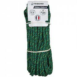 TRIBORD Zdvižné Lano 8 mm×25 M Zelené