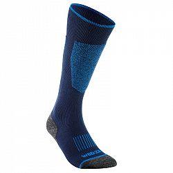 WEDZE Lyžiarske Ponožky 100 Modré