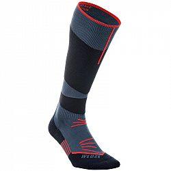 WEDZE Ponožky 500 Modro-červené