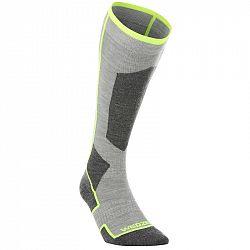 WEDZE Ponožky Pre Dospelých 900 Sivé